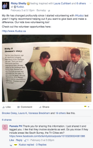 Ricky Shetty Facebook Kudoz Post referral & recommendation