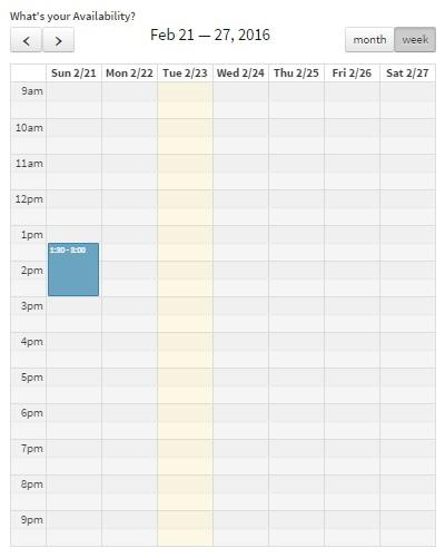 updating Calendar_4