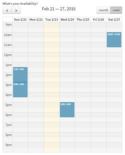 updating Calendar_6