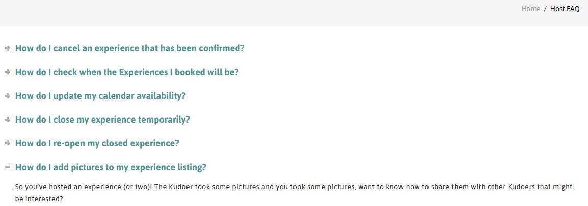 FAQ shot